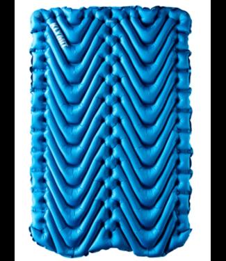 Klymit Klymit, Double V Sleeping Pad, Blue