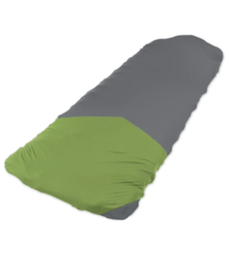 Klymit Klymit, Luxe V Sheet Pad Cover, Green/Grey