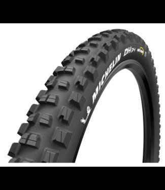 "Michelin, DH34 Tire, Wire, Tubeless Ready, MAGI-X, 2x55TPI, Black, 27.5""x2.40 Bikepark"