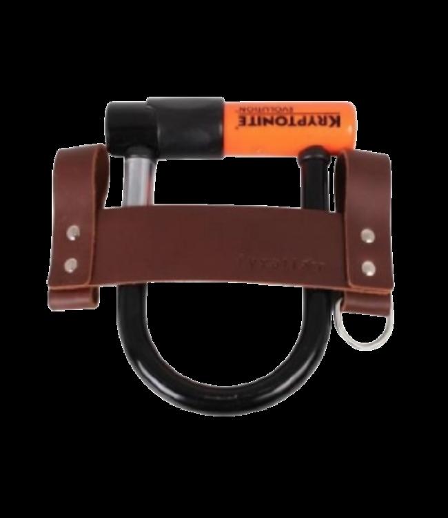 Fyxation Fyxation, Leather U-lock Holster, Brown