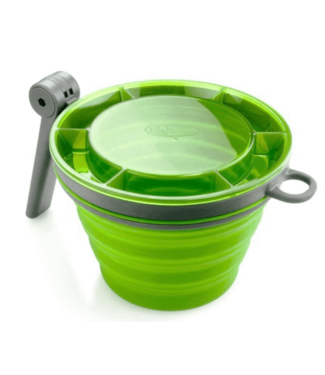 GSI Outdoors GSI Outdoors, Collapsible Fairshare Mug, Green