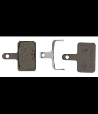 Shimano Shimano, B01S Resin Brake Pad - Resin Pad (B01S), Pad Spring, W/3 Types of split pin