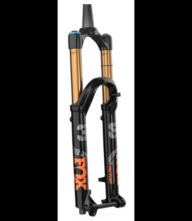 "2022 Fox 38 Fork Factory 27.5"" 170mm E-tuned Grip2 Shiny/Black Orange  44mm rake"