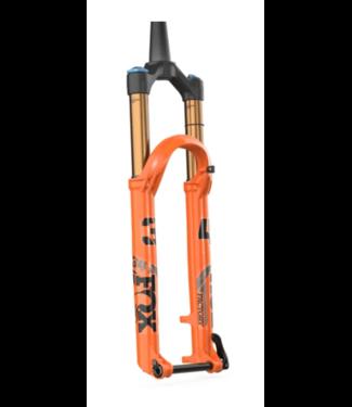 "FOX, 34 2022 Factory 29"" 140mm F-S Grip2 Shiny Orange/Black 15QRx110 44mm rake"