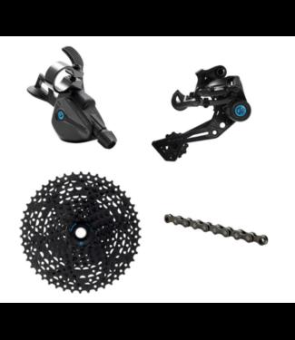 Box Three, Prime9, Groupset: 9 Speed, Multi-Shift Kit, 11-46t, Black