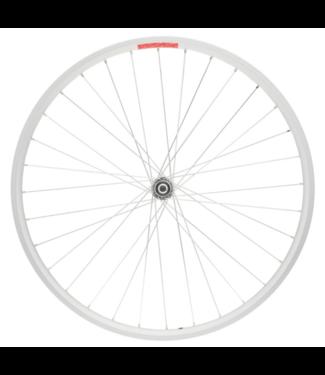 """Sta-Tru Sta-Tru Double Wall Front Wheel - 20"""", Bolt-On, 3/8 x 100mm, Silver"""