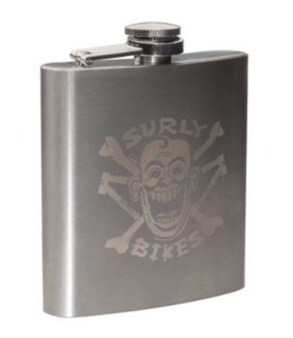 Surly, Hip Flask 6oz, Stainless