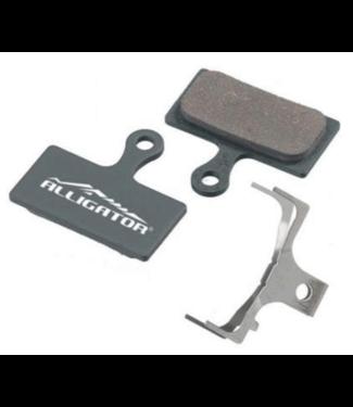 Alligator Components Alligator Semi-Metallic Disc Brake Pads SHimano M900/M800 2 piston