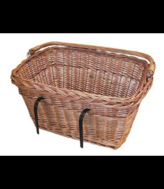 Basil, Davos, Basket, Varnished Natural