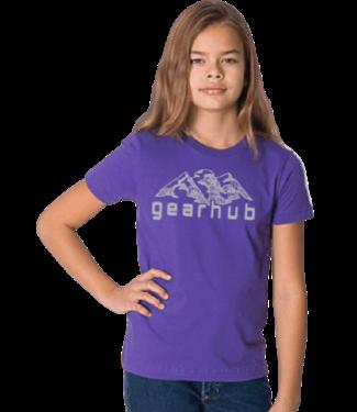 Gearhub GearHub, Youth S/S Shirt, Mountain Logo