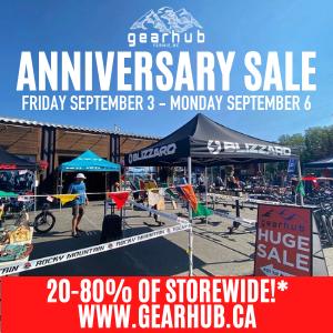 GearHub 11-Year Anniversary Sale