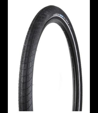 "Schwalbe Schwalbe Big Apple Tire 20"" x 2.0 Wire Endurance  RaceGuard 67TPI Black"
