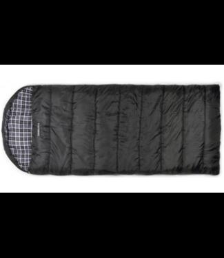 Chinook Chinook, Trailside Dawson 8 (-22F) Sleeping Bag, Black