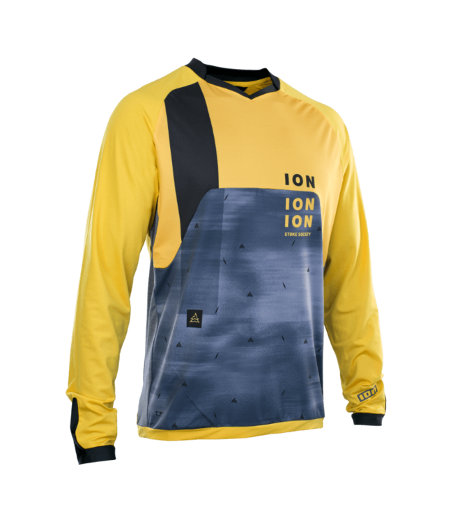 ION ION Traze Vent LS Jersey Dark Yellow L
