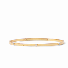 Crescent Bangle Gold Medium