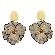 Geraniuim Earrings - Blush
