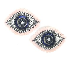 Statement Eye Stud Earrings