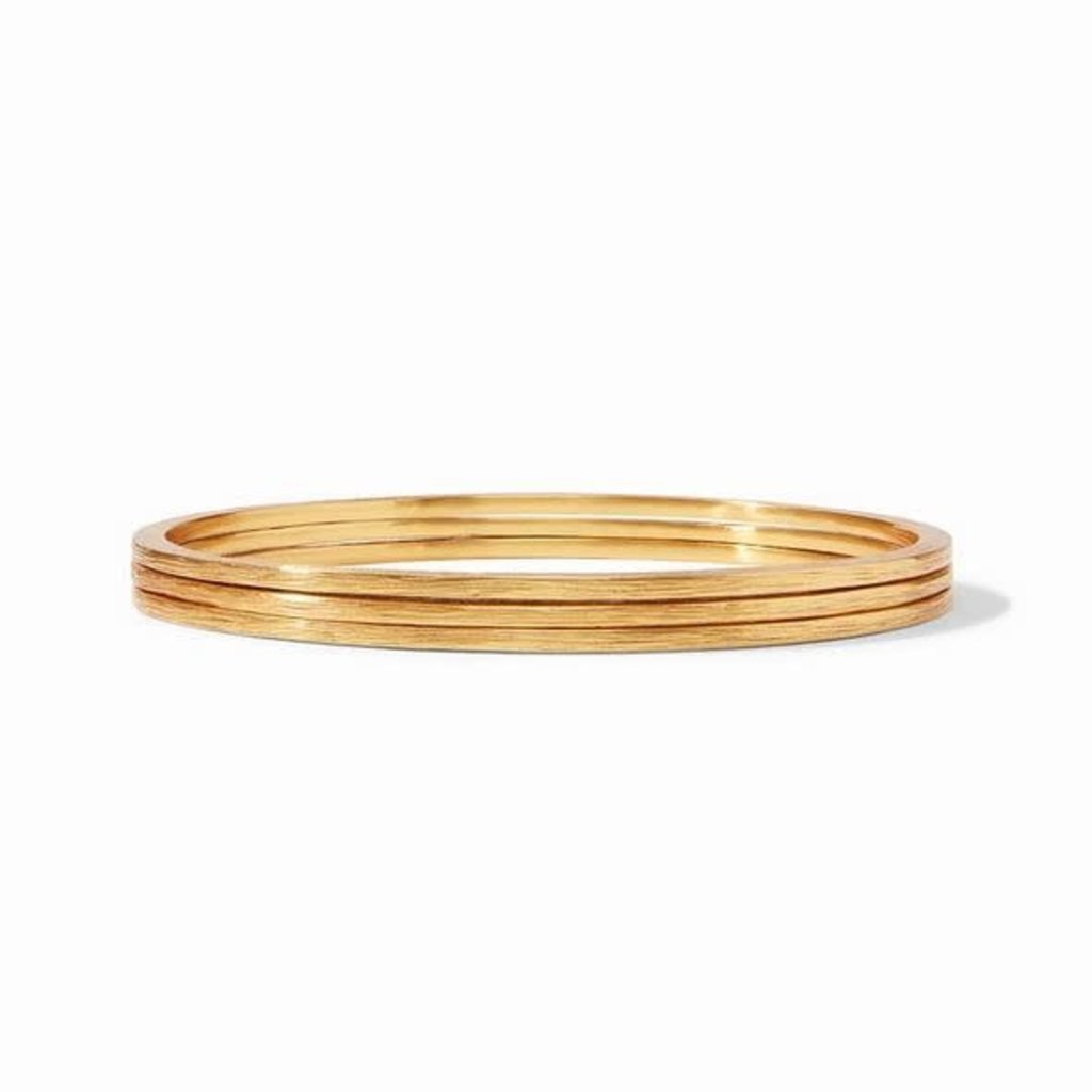 Aspen Stacking Bangles Gold Medium