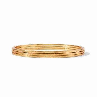 Aspen Stacking Bangles Gold Medium
