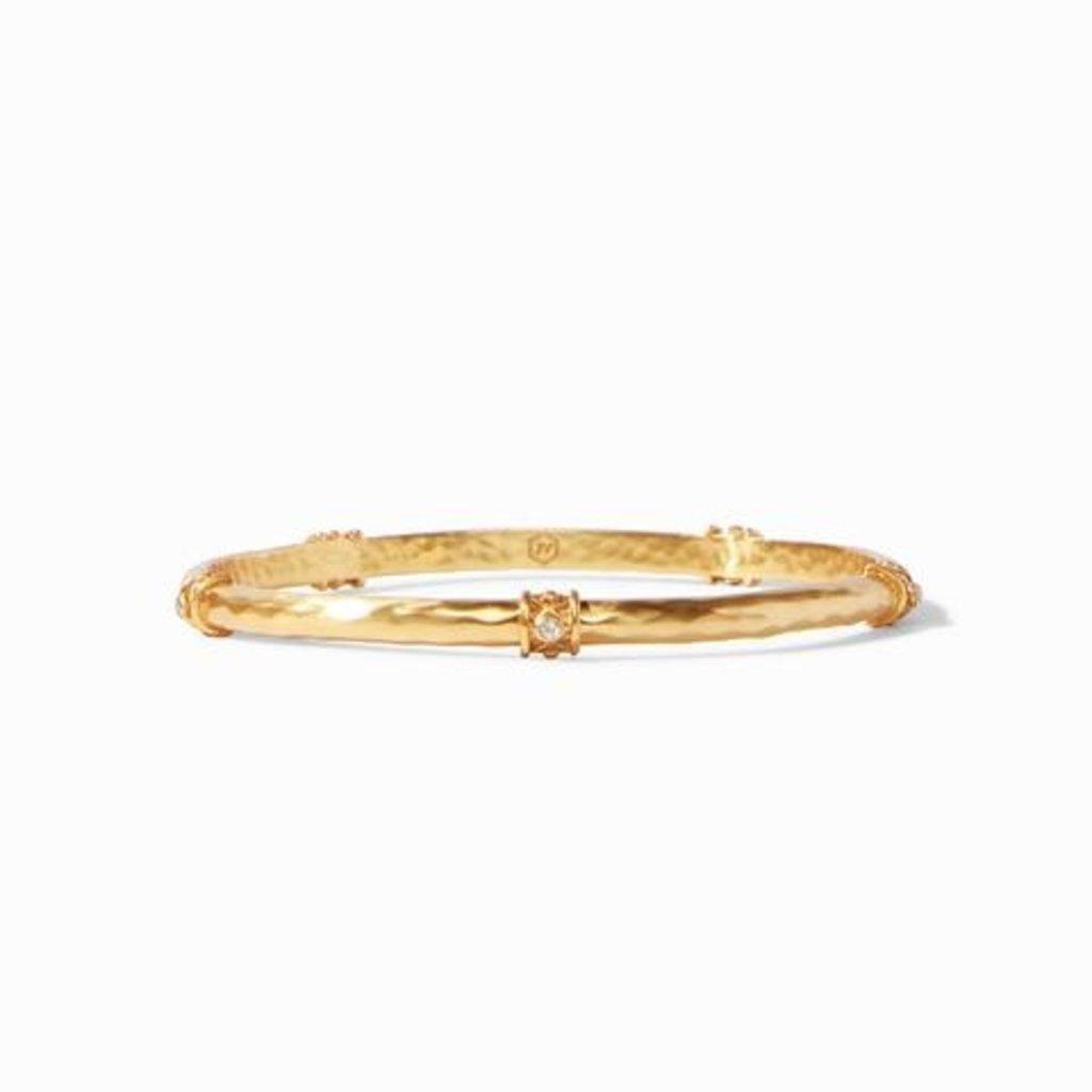 Savannah Bangle Gold Pearl - Medium