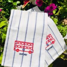 Double Decker KB bus TEA TOWEL