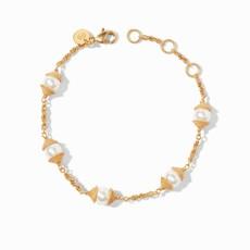 Calypso Pearl Delicate Bracelet Gold