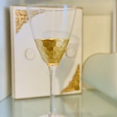 Classic Gold Leaf Glasses