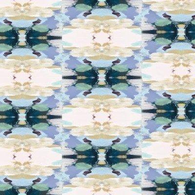 Lawson's Park Blue Outdoor Pillow 14x20 Lumbar