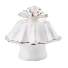 elemental luxe small cake plate w cover