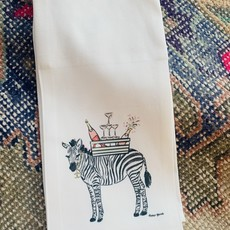 Zebra kitchen towel