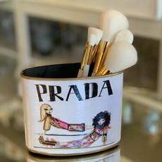 Prada Girls PETITE (4.5'' tall) Makeup Brush Holder