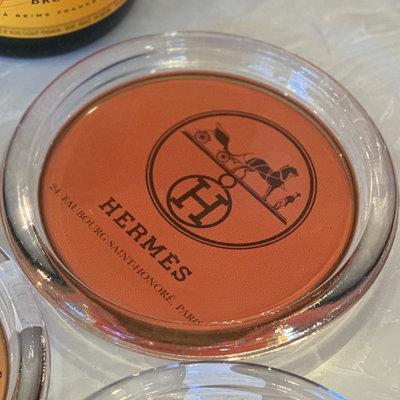 Hermes Orange Coaster-
