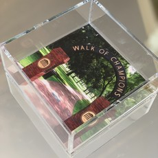 Ole Miss Walk of Champions (6x6) Lucite Tray-