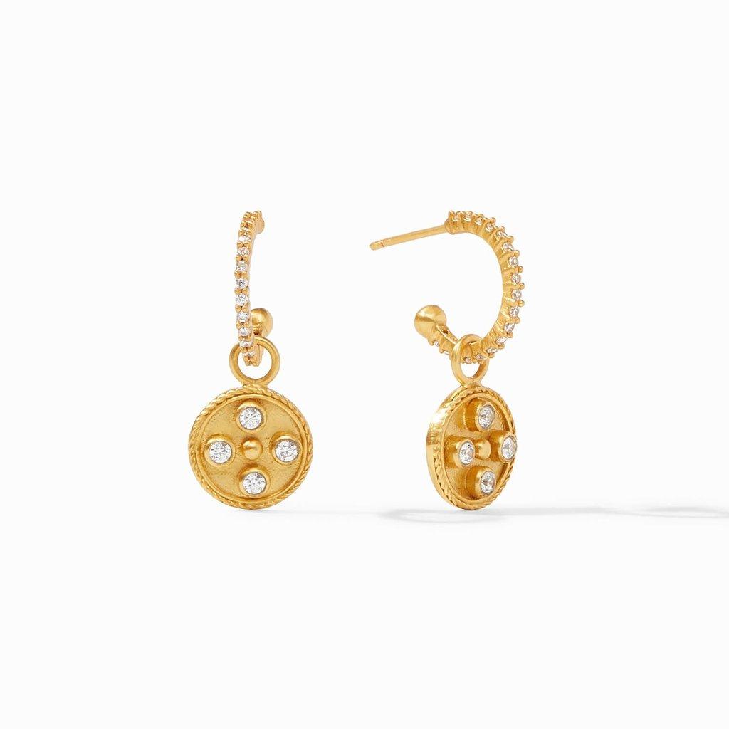 Paris Charm Earring Gold