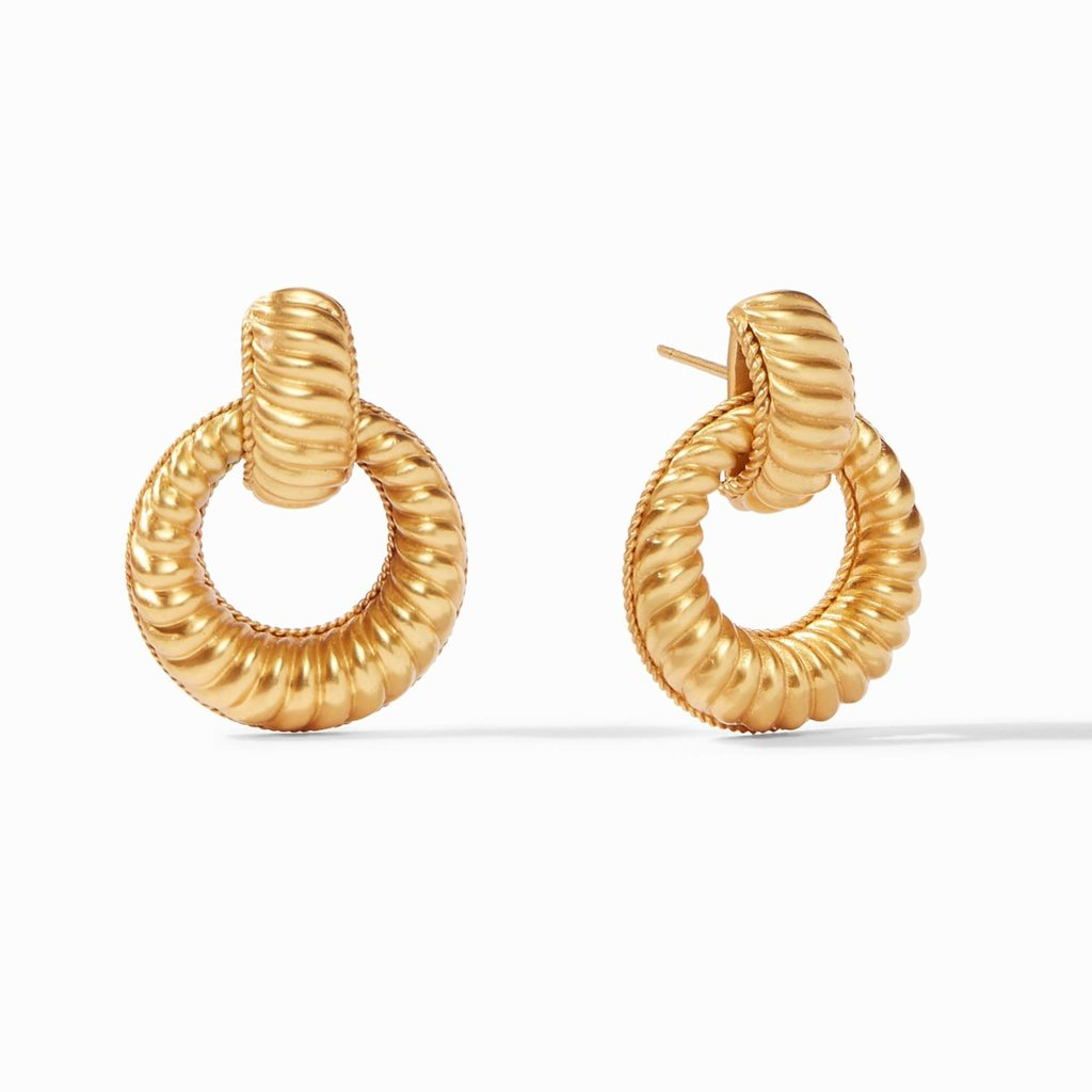ER582G00 Olympic Doorknocker Earring