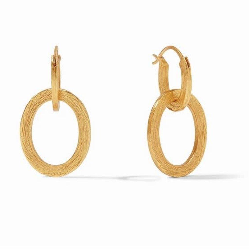 Aspen 2 in 1 Earring Gold