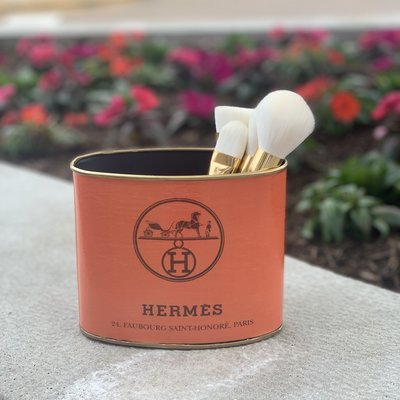 Hermes SMALL (5.5'' tall) Makeup Brush Holder-