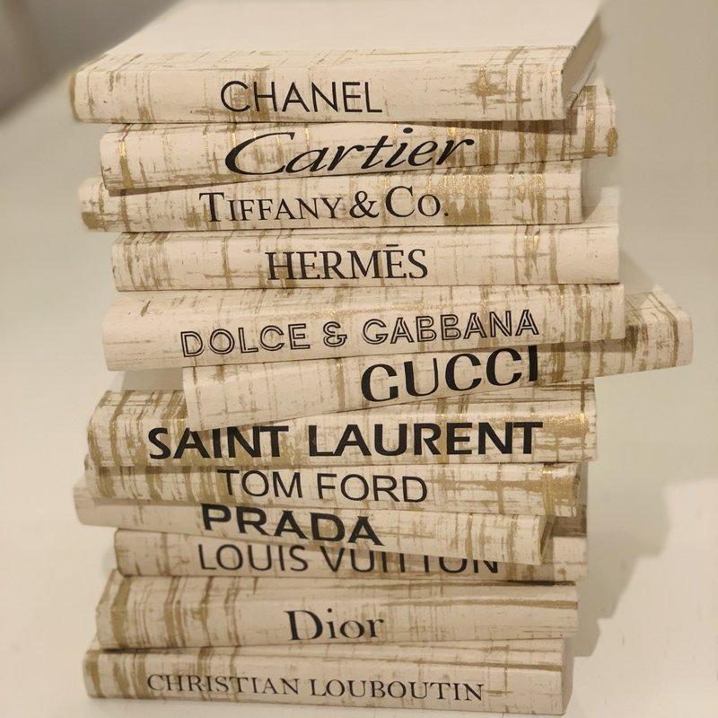 Saint Laurent Minature Boutique Books