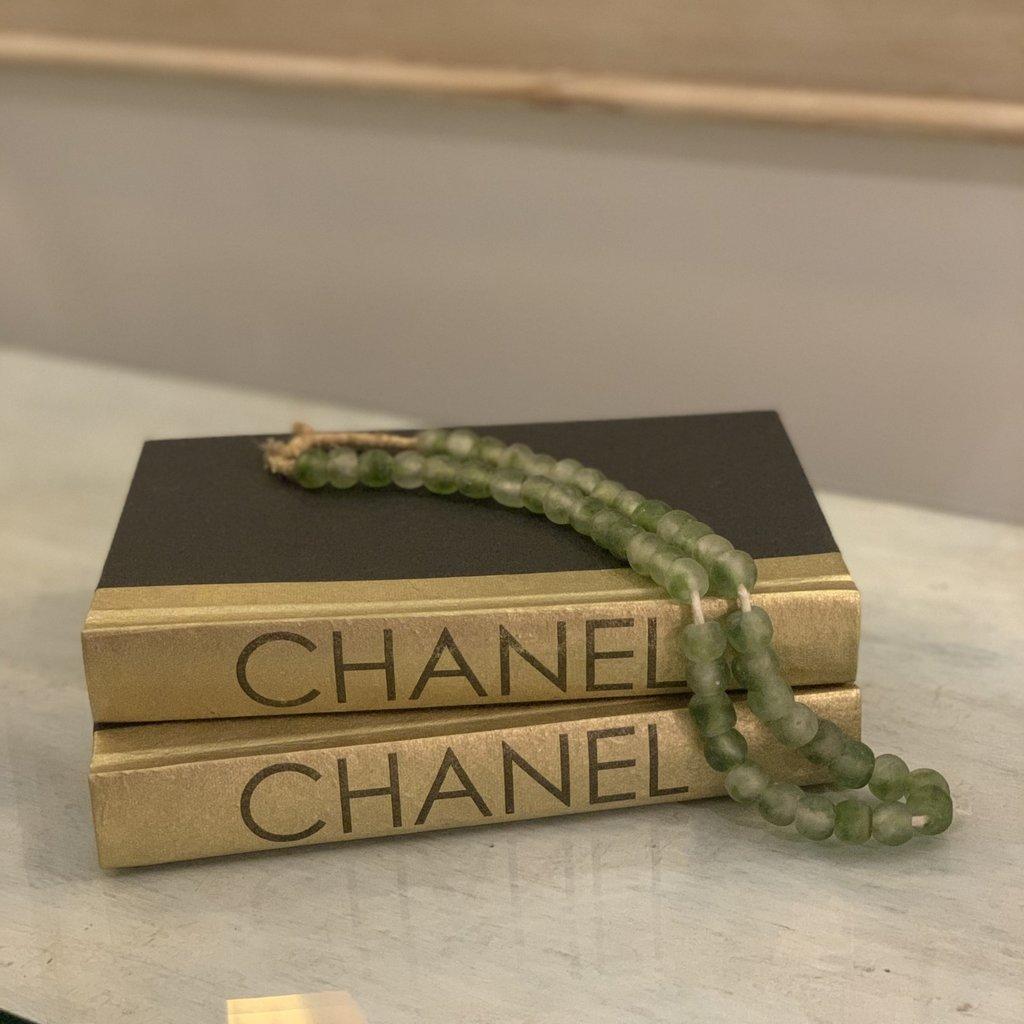 Chanel All Gold Metallic Book