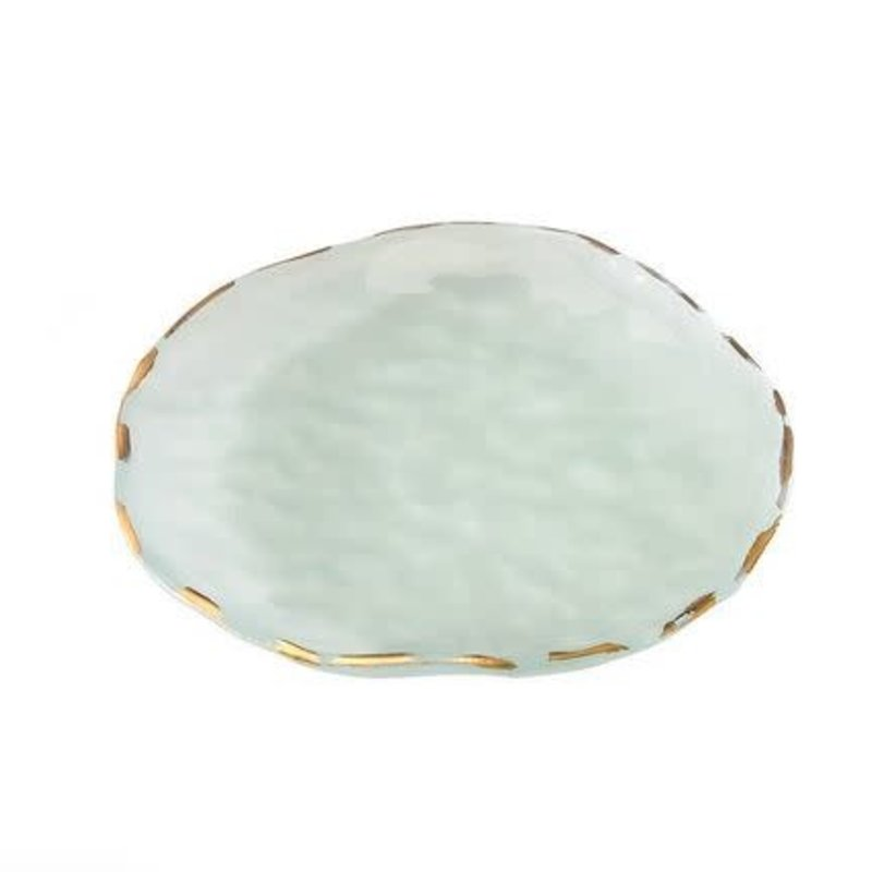 """9"""" Salad Plate -Shell Gold"""