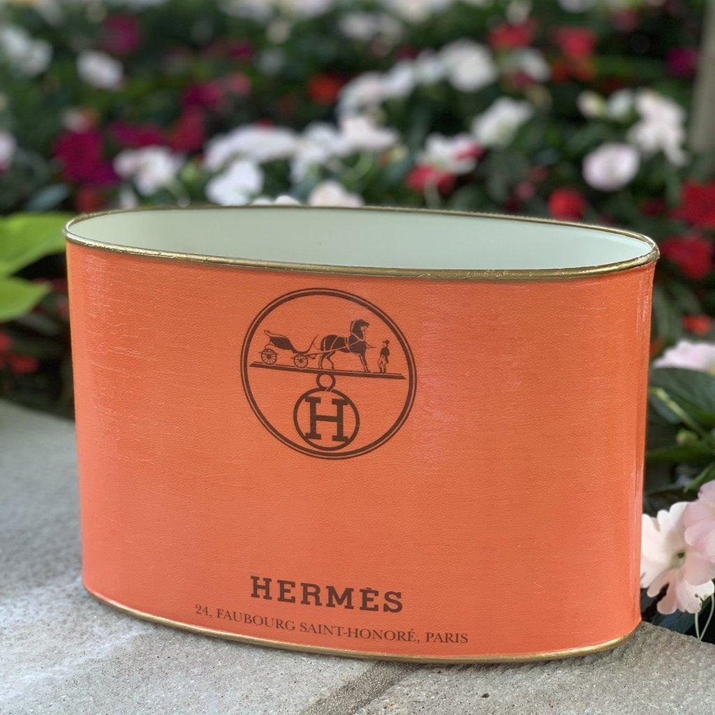 Hermes LARGE (10x7x4'') Makeup Brush Holder-
