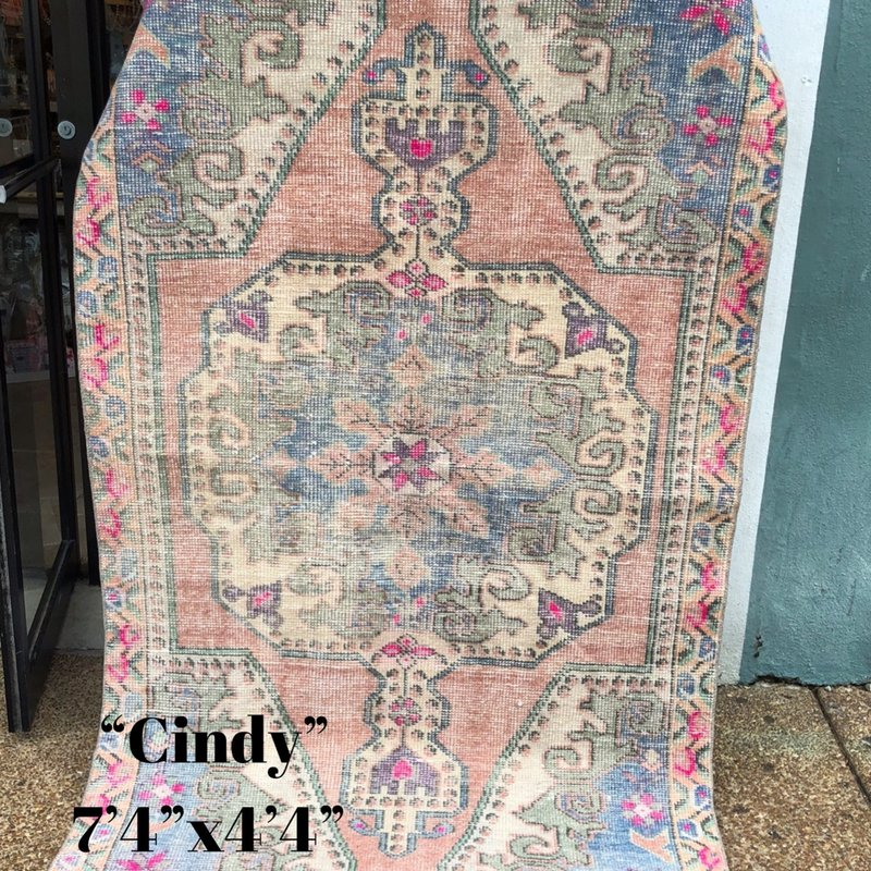 "Large Rug - Cindy 7'4""x4'4"""