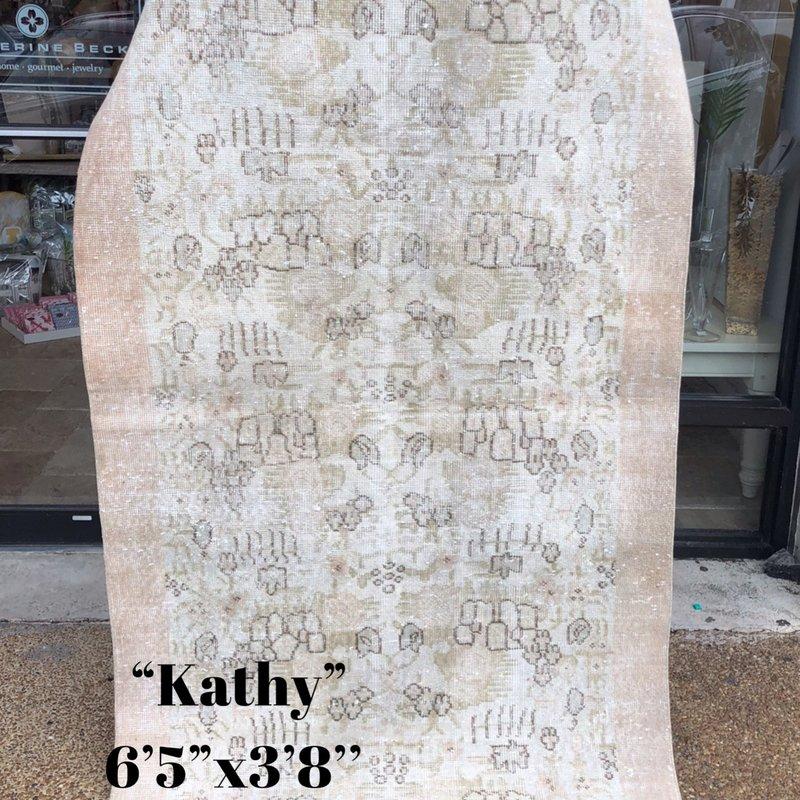 "Large Rug - Kathy 6'5""x3'8"""