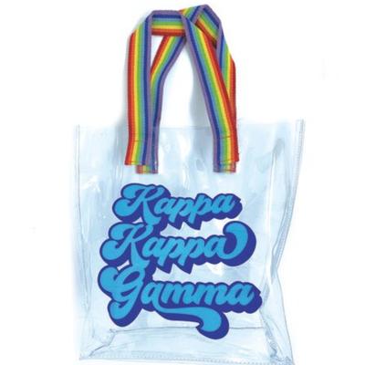 KKG Clear Retro Tote