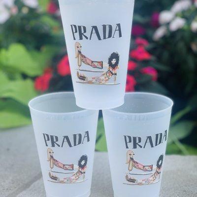 Prada Girls Frost Flex Cups (Set of 6)