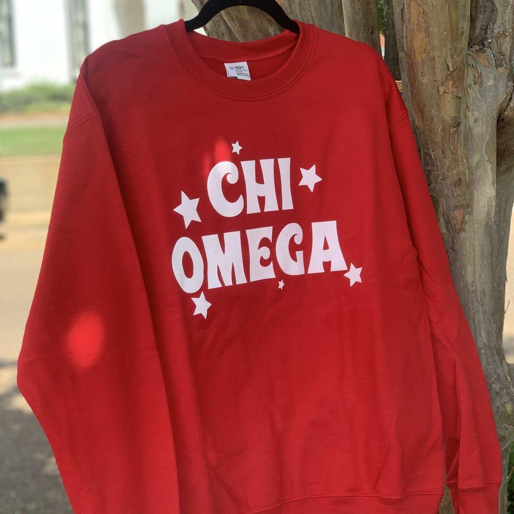 Sorority STAR Colored Sweatshirt