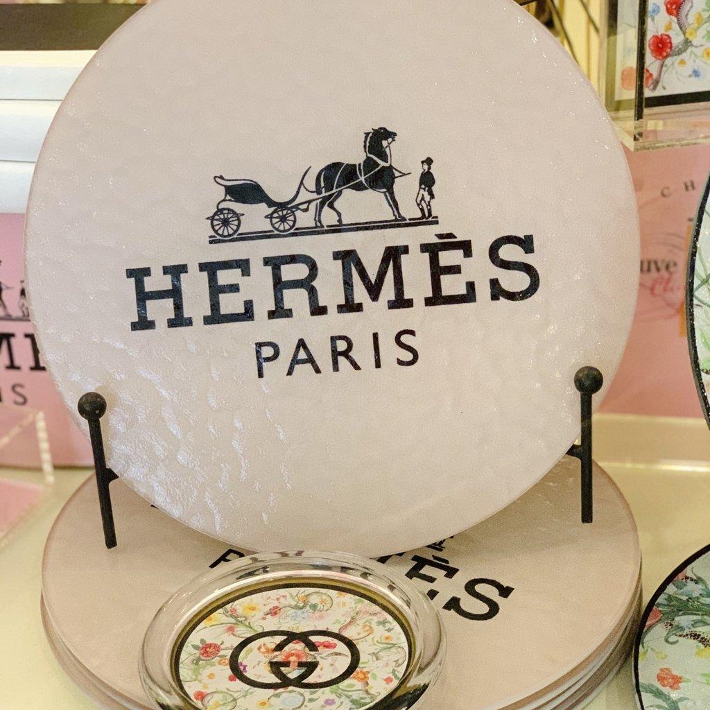 Hermes Light Pink/ Blush Cutting Board-