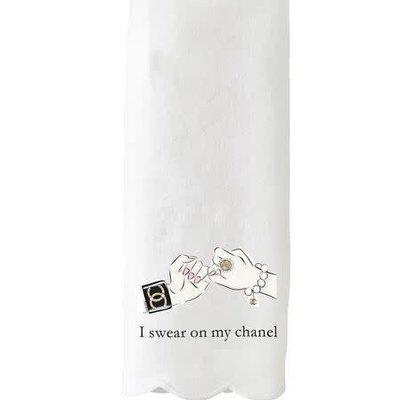 Swear on My Chanel Guest Towel/Tea Towel
