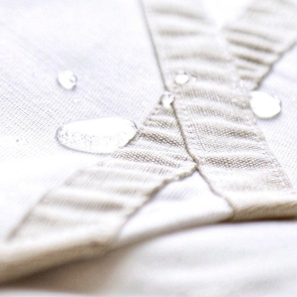 Protective Cover TAN + WHITE 58''W X 46''L