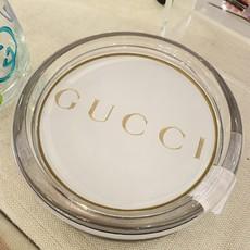 White & Gold Gucci Coaster-